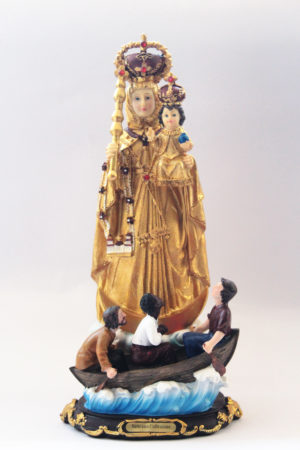 Our Lady of Vailankani with boat