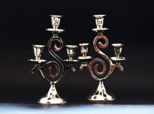 Candle stand 900 pair